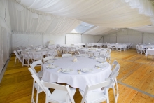 Wedding Marquee - Flowing Ceiling