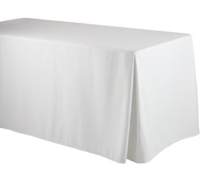 White Rectangle cloth